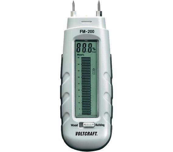 Měřič vlhkosti dřeva a stavebních materiálů FM-200