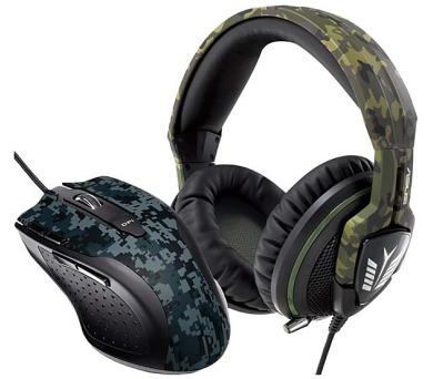 Asus ECHELON sluchátka Forest + Myš Laser + DOPRAVA ZDARMA