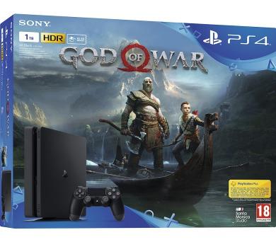 Sony PS4 1TB slim + God of War