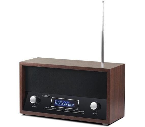 Technaxx Retro radiobudík Nostalgie s LCD displejem + DOPRAVA ZDARMA