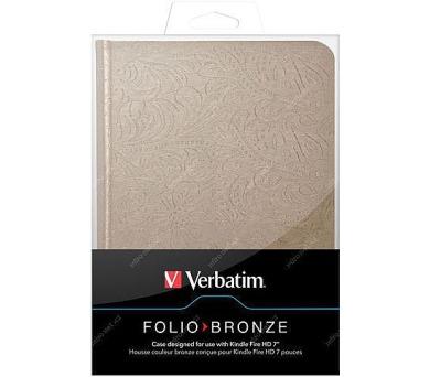 """Verbatim Folio - Bronze pro čtečku Kindle Fire HD 7"""""""