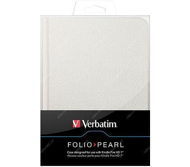 "Verbatim Folio - Pearl pro čtečku Kindle Fire HD 7"""