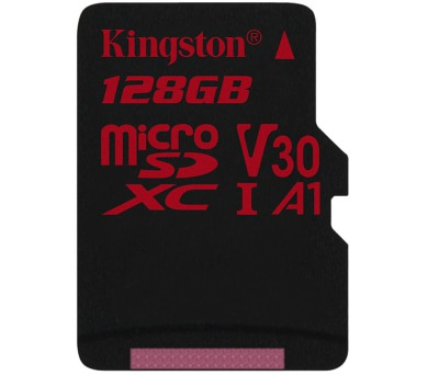 KINGSTON Canvas React 128GB microSDXC / U3 V30 A1 / bez adaptéru (SDCR/128GBSP)