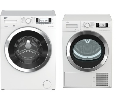 SET Pračka BEKO WTV8735XCS0T + Sušička BEKO DE 8635 RX0 kondenzační