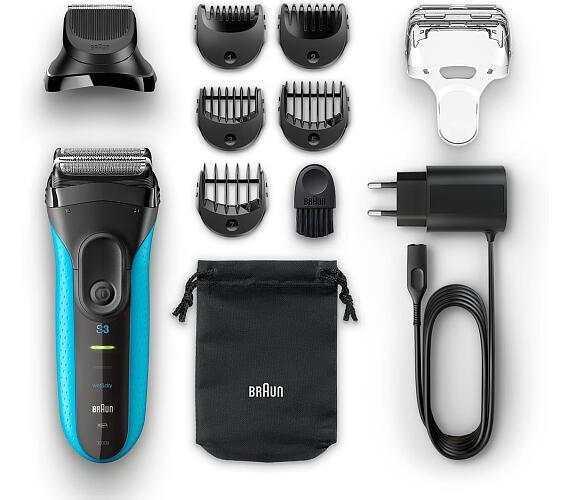 Braun Series 3 3010 BT Shave&Style + DOPRAVA ZDARMA