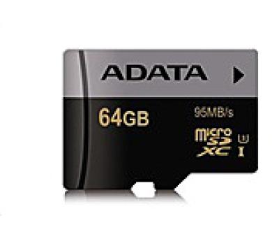 ADATA Micro SDXC karta Premier Pro 64GB UHS-I U3