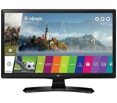 """LG TV monitor 24MT49S-PZ / 23,6""""/ IPS / 1366x768 / 16:9 / 200cd/m2 / 14ms /DVB-T2/C/S2 / CI slot/ HD"""