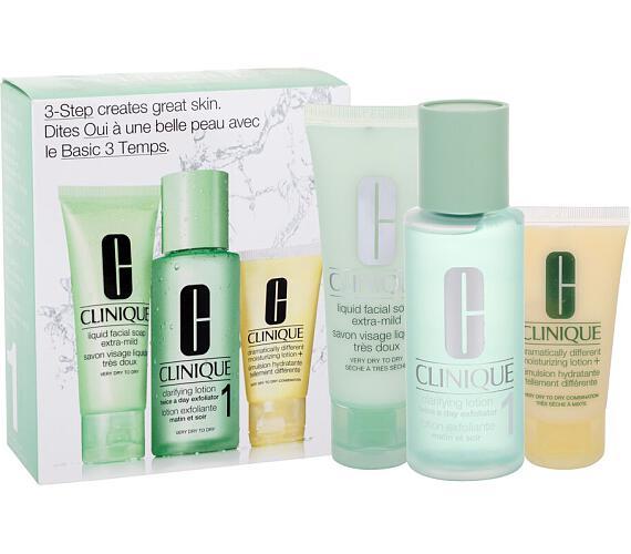 Clinique 3-Step Skin Care 1