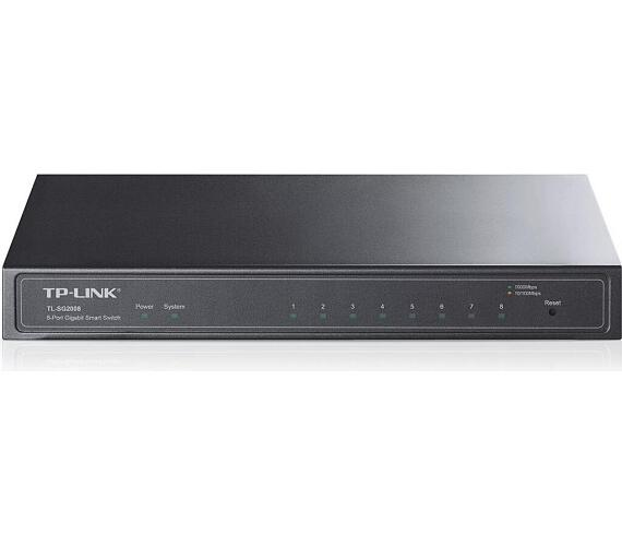 TP-Link T1500G-8T(TL-SG2008) 8-port Pure-Gigabit Desktop Smart Switch + DOPRAVA ZDARMA