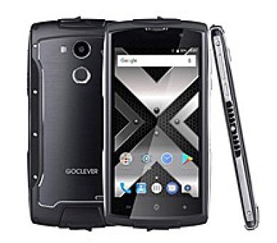 GOCLEVER QUANTUM 500 STEEL LTE - odolný telefon (FQ500S)