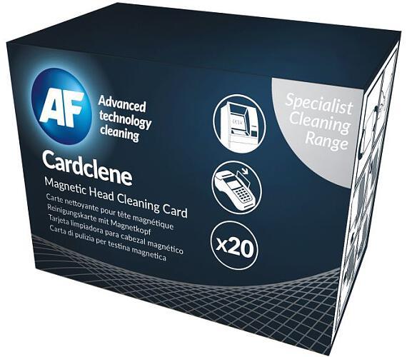 AF Cardclene - Čistící karty napuštěné rozpouštědlem (20 ks) (ACCP020) + DOPRAVA ZDARMA