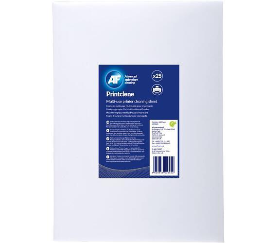 AF Print-Clene - Spec. papír na čištění laser. tiskáren a faxů AF (25 ks)