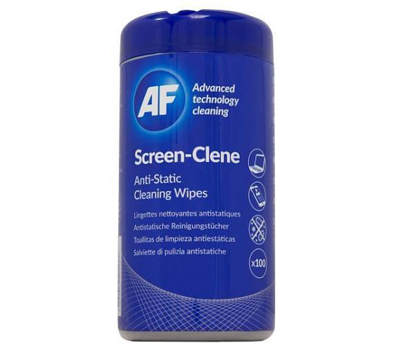 AF Screen-Clene - Antistatický čistič obrazovek a filtrů AF ubrousky (100ks) (ASCR100T)