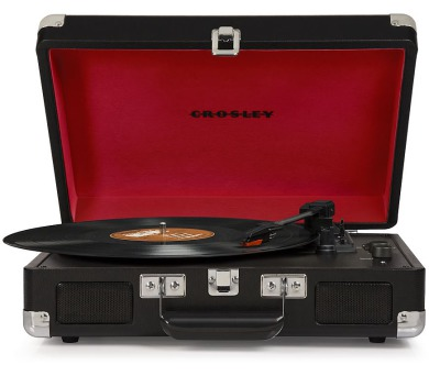 Crosley - gramofon CRUISER Deluxe Black (CR8005D-BK4)