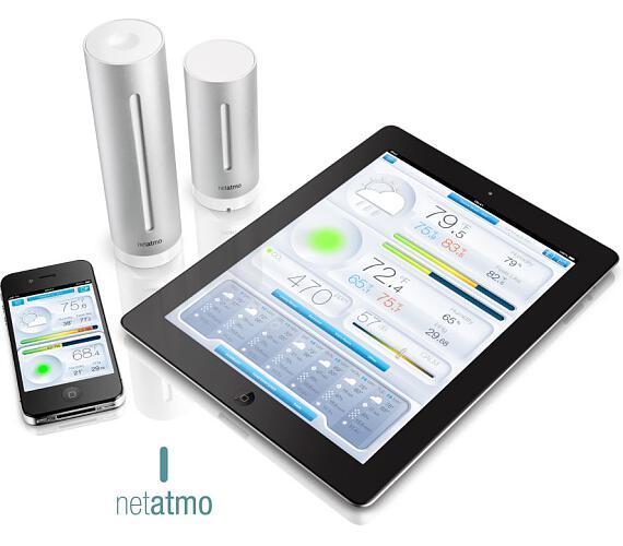 Netatmo Urban - meteostanice pro Android a iOS (NWS01-EC-ALU)