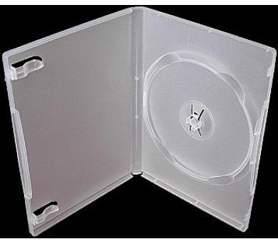 COVER IT Krabička na 1 DVD 14mm super čirý 10ks/bal (27048P10)