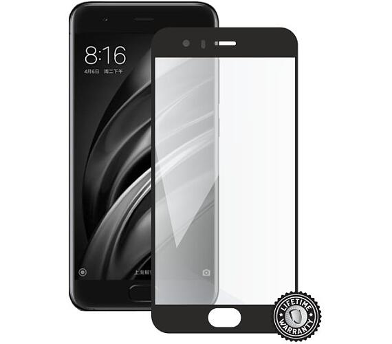 Screenshield XIAOMI Mi6 Global Tempered Glass protection (full COVER black)