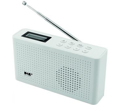 Soundmaster DAB150WE malé přenosné DAB+/ FM/AM rádio / Bílé