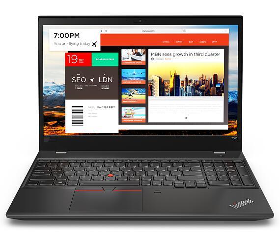 Lenovo Thinkpad T580 15.6FHD/i7-8550U/256SSD/8GB/ Intel HD /W10P/černý (20L90022MC) + DOPRAVA ZDARMA