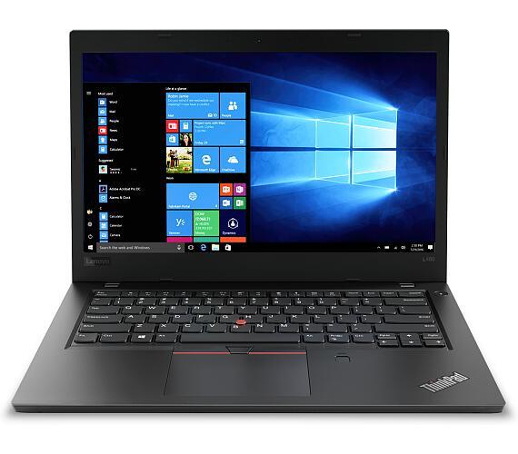 Lenovo Thinkpad L480 14F/i7-8550U/8GB/256SSD/Intel UHD/W10P/ černý (20LS0016MC)