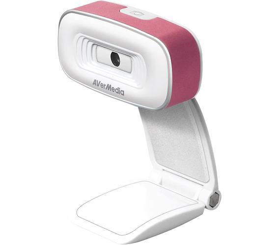 AVERMEDIA PW310/ HD Webkamera/ Růžová (40AAPW310AND)