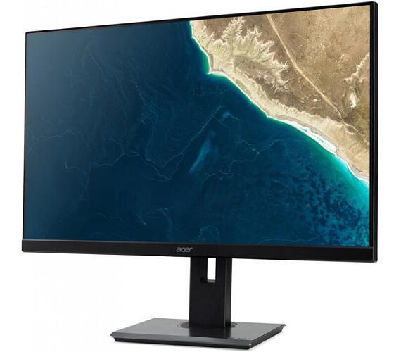 "Acer LCD B247YBMIPRZX 23,8"" IPS LED 1920x1080/4ms/100M:1/250 nits/VGA/HDMI/DP/USB 3.0 Hub/USB/Height adj./Pivot/Black+ 3Y on-site (UM.QB7EE.004) + DOPRAVA ZDARMA"