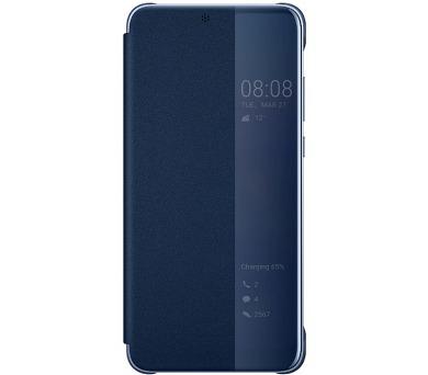 Huawei Original S-View Pouzdro Blue pro P20 (EU Blister) + DOPRAVA ZDARMA