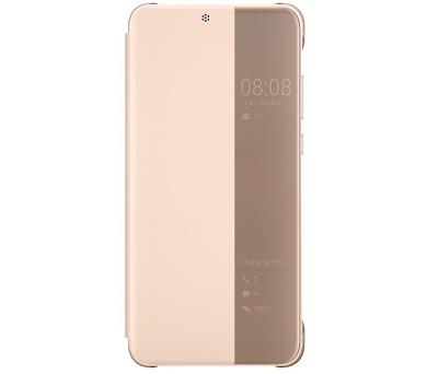 Huawei Original S-View Pouzdro Pink pro P20 (EU Blister) + DOPRAVA ZDARMA