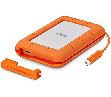 LaCie Rugged Thunderbolt USB-C 500GB USB 3.1 (STFS500400)