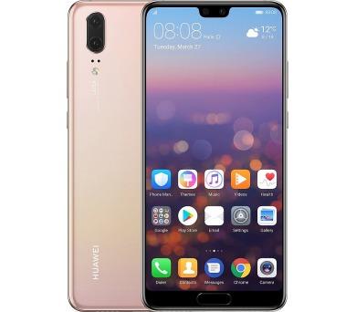 Huawei P20 Dual Sim - Pink Gold + Premium Servis - 3 měsíční záruka na displej