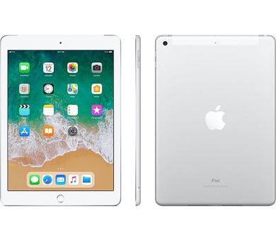 Apple iPad wi-fi + 4G 32GB Silver (2018) (MR6P2FD/A)