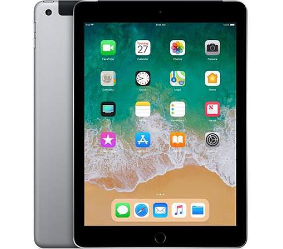 Apple iPad wi-fi + 4G 128GB Space Grey (2018) (MR722FD/A)