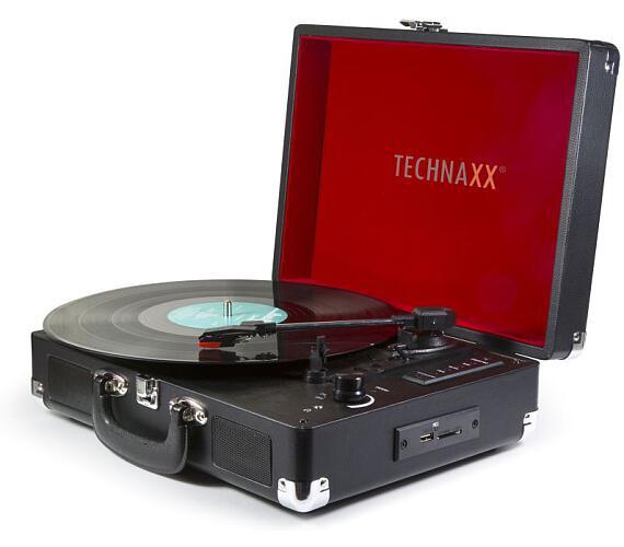 Technaxx Bluetooth gramofon/konvertor - převod LP gramofonových desek do MP3 formátu + DOPRAVA ZDARMA