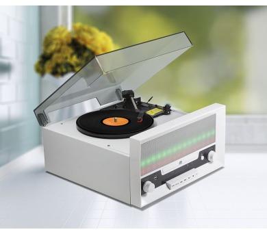 Technaxx Bluetooth LED přehrávač CD/gramofon/konvertor - převod do MP3 formátu + DOPRAVA ZDARMA