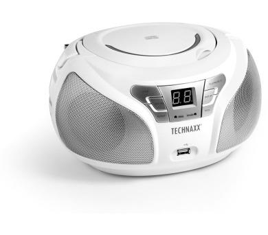 Technaxx Boombox CD přehrávač + DOPRAVA ZDARMA