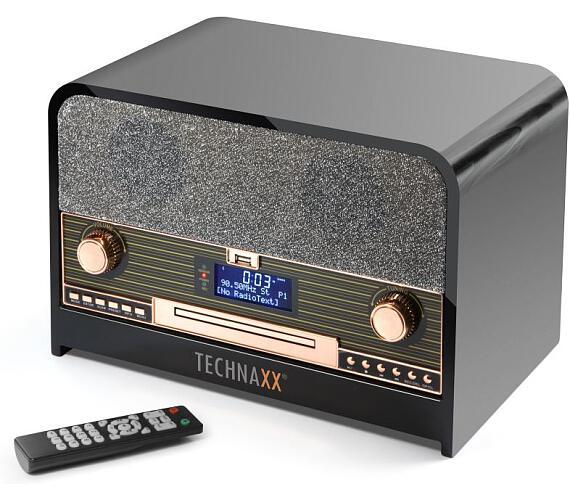 Technaxx Retro CD přehrávač + DOPRAVA ZDARMA