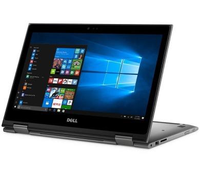 "DELL Inspiron 13z 5000 (5379) Touch/ i7-8550U/ 8GB/ 256GB SSD/ 13.3"" FHD dotykový/ W10/ Office/ šedý/ 2YNBD on-site"