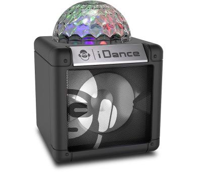 iDANCE CUBE NANO CN-2 BLACK/ BT repro/ 5W/ 1x Disco ball/ USB + DOPRAVA ZDARMA