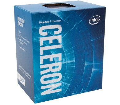 INTEL Celeron G4900 / Coffee Lake / LGA1151 / max. 3,1 GHz / 2C/2T / 2MB / 54W TDP / BOX (BX80684G4900)