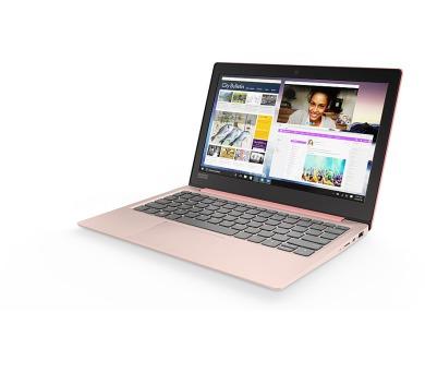 """Lenovo IdeaPad 120S 11,6""""HD/N3350/32GB/4G/INT/Win10S růžová"""
