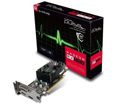 Sapphire PULSE RX550 4GB (128) aktiv D H DP OC LP (11268-09-20G) + DOPRAVA ZDARMA
