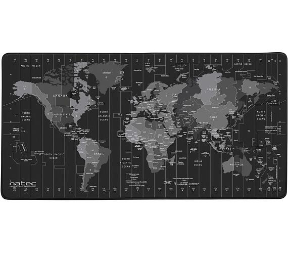 Natec Time Zone Map