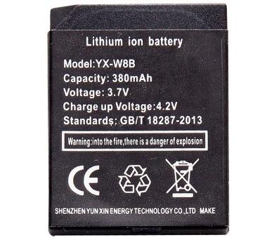 IMMAX baterie pro chytré hodinky SW4/ 3,7V/ 380mAh (05018B)