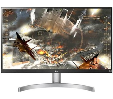 "LG 27UK600-W.AEU 27"" IPS 4K Ultra HD 3840x2160/16:9/350cdm/5ms/DisplayPort/HDMI"