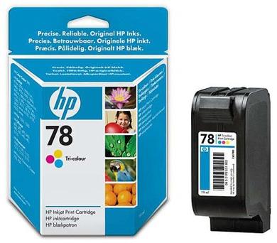Inkoustová náplň HP No. 78 + DOPRAVA ZDARMA