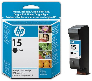 Inkoustová náplň HP No. 15