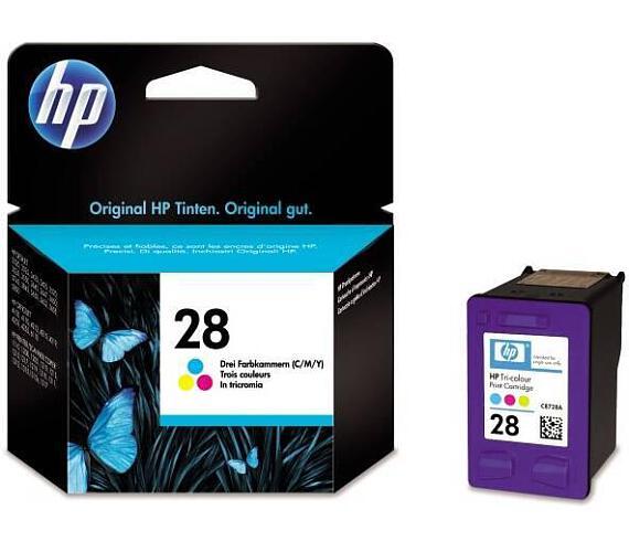 Inkoustová náplň HP No. 28 + DOPRAVA ZDARMA