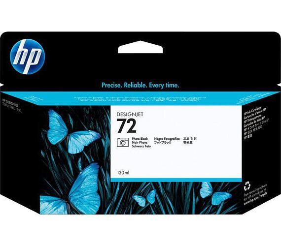 Inkoustová náplň HP No. 72