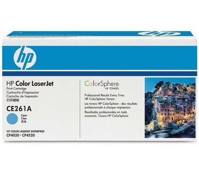 Toner HP CE261A + DOPRAVA ZDARMA