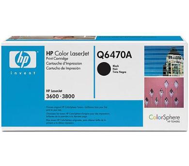 Toner HP Q6470A + DOPRAVA ZDARMA